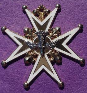 Médaille du Saint Esprit, XVIIe Siècle